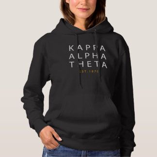 Kappa Alpha- Theta | Est. 1870 Hoodie