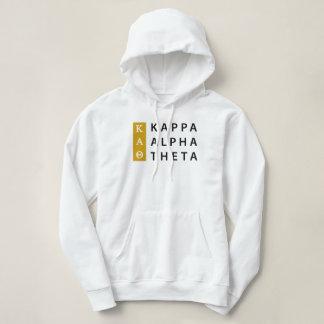 Kappa Alpha- Theta | Gestapeld Logo Hoodie