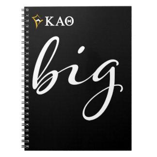 Kappa Alpha- Theta | Groot Manuscript Ringband Notitieboek