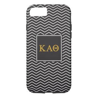Kappa Alpha- Theta | het Patroon van de Chevron iPhone 8/7 Hoesje