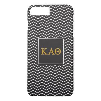 Kappa Alpha- Theta | het Patroon van de Chevron iPhone 8/7 Plus Hoesje