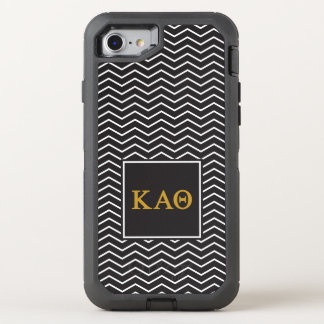 Kappa Alpha- Theta | het Patroon van de Chevron OtterBox Defender iPhone 7 Hoesje