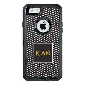 Kappa Alpha- Theta | het Patroon van de Chevron OtterBox Defender iPhone Hoesje