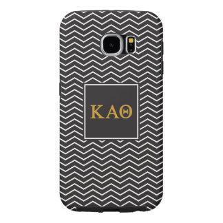Kappa Alpha- Theta | het Patroon van de Chevron Samsung Galaxy S6 Hoesje