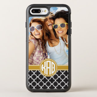 Kappa Alpha- Theta | het Patroon van het Monogram OtterBox Symmetry iPhone 8 Plus / 7 Plus Hoesje