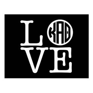 Kappa Alpha- Theta | Liefde Briefkaart