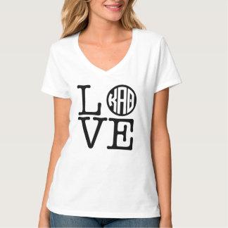Kappa Alpha- Theta | Liefde T Shirt