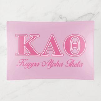 Kappa de Alpha- Roze Brieven van de Theta Sierschaaltjes