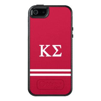 Kappa Sigma | de Streep van de Sport OtterBox iPhone 5/5s/SE Hoesje