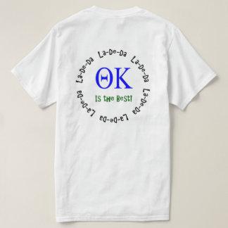 Kappa van de theta het Overhemd van La-DE-DA T Shirt