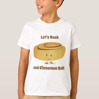 Karakter | van het Broodje van de kaneel Kinder T Shirt