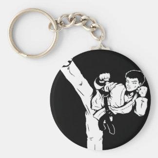 karate lege hand sleutelhanger