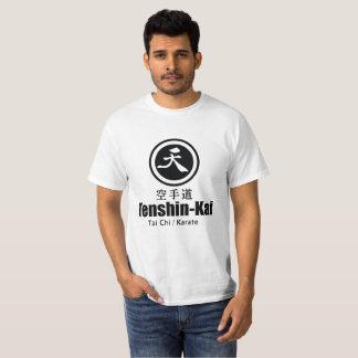 Karate tenshin-Kai - Fundamentele Witte T-shirt