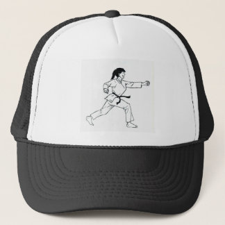 Karate Womyn Trucker Pet