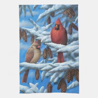 Kardinalen Handdoek