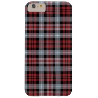 Karmozijnrode Witte en Zwarte iPhone 6 van de Barely There iPhone 6 Plus Hoesje