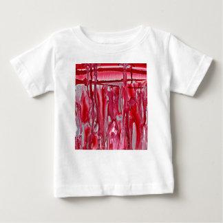 karmozijnrood de winterlandschap 121517 baby t shirts