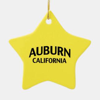 Kastanjebruin Californië Keramisch Ster Ornament