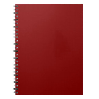 Kastanjebruin Notitieboek