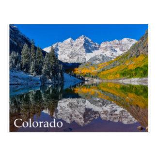 Kastanjebruine Klokken Briefkaart