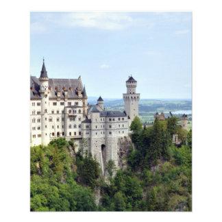 Kasteel Neuschwanstein Beieren Duitsland Flyer 11,4 X 14,2 Cm