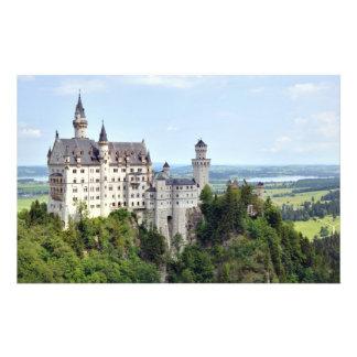 Kasteel Neuschwanstein Beieren Duitsland Gepersonaliseerde Folder