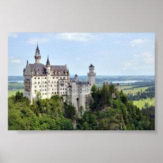 Kasteel Neuschwanstein Beieren Duitsland Poster