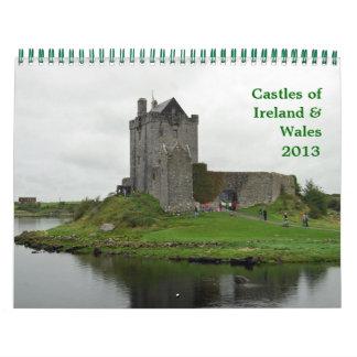 Kastelen van Ierland & Wales Kalender