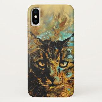 Kat 617 iPhone x hoesje