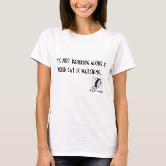 Kat Dame Drinking T-Shirt