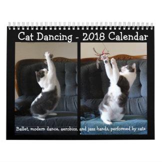 Kat die - de Kalender van 2018 dansen
