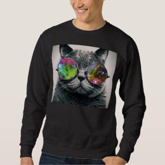 kat die vliegenierszonnebril dragen trui
