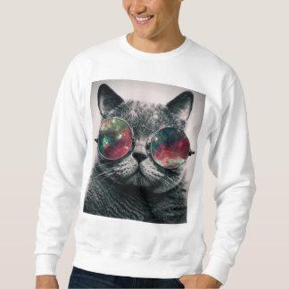 kat die zonnebril dragen swatshirt trui