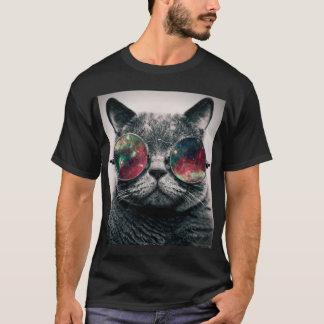 kat die zonnebril dragen t shirt