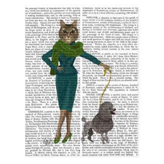 Kat en Poedel Briefkaart