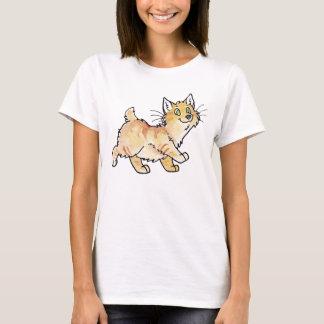Kat het Van het Eiland Man van de Gestreepte kat T Shirt