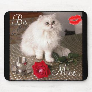 Kat II van de liefde Klantgerichte Mousepad - Muismat