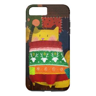 """""""Kat in Lelijke Sweater """" iPhone 8/7 Plus Hoesje"""