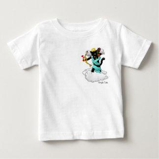Kat van de Cupido van de Steenkool van de Baby T Shirts