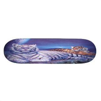 Kat van de Tijger van de fantasie de Witte 20,0 Cm Skateboard Deck