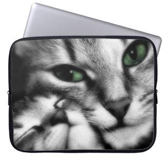 Katachtige Affectie Laptop Sleeve