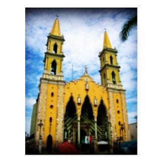 Kathedraal in het Briefkaart van de Kerk van