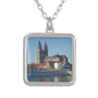 Kathedraal van Maagdenburg 03.01 Zilver Vergulden Ketting