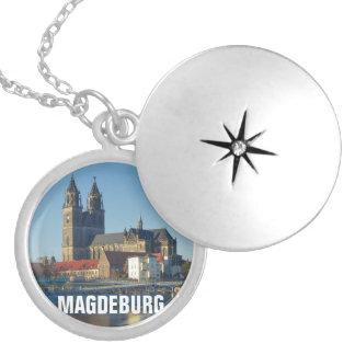 Kathedraal van Maagdenburg 03.2.T Zilver Vergulden Ketting