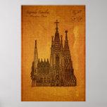 Kathedralen: Sagrada Fam�lia, Barcelona Afdruk
