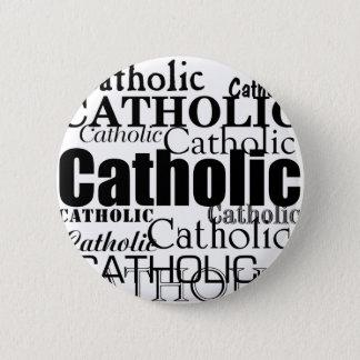Katholiek Word Ronde Button 5,7 Cm