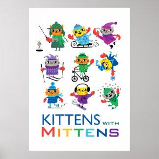 Katjes in Vuisthandschoenen Poster