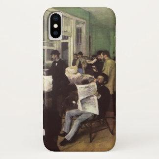 Katoenen Markt in New Orleans door Edgar Degas iPhone X Hoesje