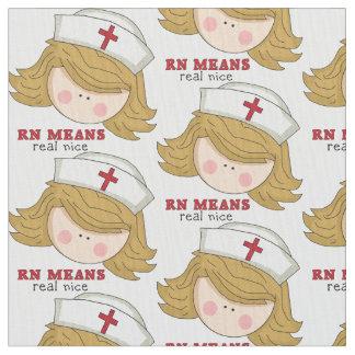 Katoenen van de cartoonPima van de verpleegster