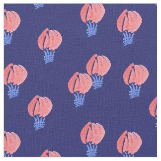 Katoenen van de lucht Ballons Gekamde Stof